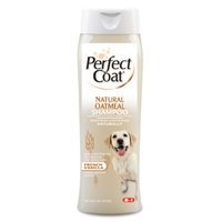 8in1 Perfect Coat Natural Oatmeal Shampoo 16 oz.