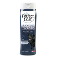 8in1 Perfect Coat Black Pearl Shampoo 16 oz.