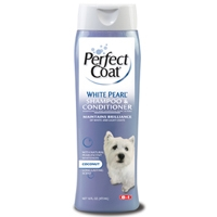 8in1 Perfect Coat White Pearl Shampoo 16 oz.