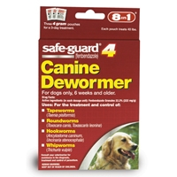 8in1 Safeguard 4 Dog Wormer 4 Grams Large Dog
