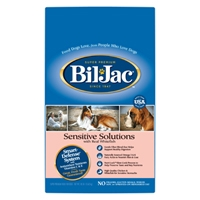 Bil-Jac Sensitive Solutions Dog Food, 15 Lb