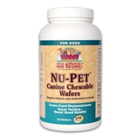 Ark Naturals Nu-Pet Canine Wafers 90 Chewable tabs.