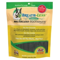 Ark Naturals Breath-Less Toothpaste Chew Mini 4oz