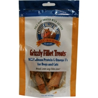 Grizzly Salmon Oil Fillet Treats 3 oz. Pouch