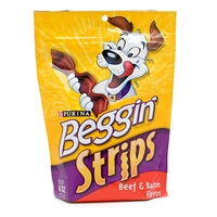 Beggin Strips Beef & Bacon 10/6oz