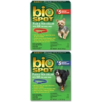 Farnam/Adams Biospot Flea & Tick Collar w/IGR Small Dog