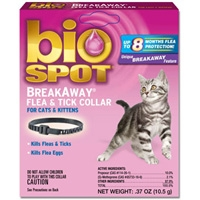 Farnam/Adams Biospot Flea & Tick Breakaway Collar - Cat