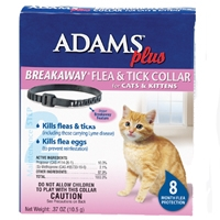 Farnam/Adams Plus Flea & Tick Breakaway Cat Collar