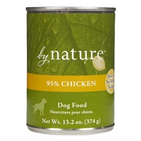 By Nature Natural 95% Chicken Dog, 12/13.2 Oz