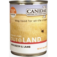 Canidae Grain Free Pure Land With Bison And Lamb, 12/13 Oz