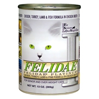 Felidae Platinum Chicken/Turkey/Lamb/Fish - 12/13 oz. Can Cs.