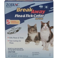 Zodiac Z-37 Breakaway Flea & Tick Cat Collar 5 Month