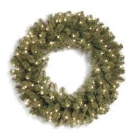 Douglas Fir Prelit Wreath