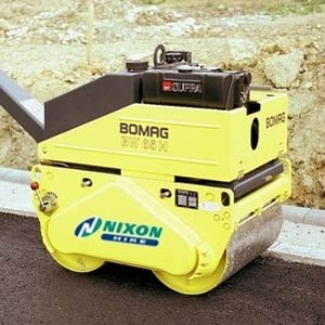 Bomag Double Drum Walk Behind Compactor