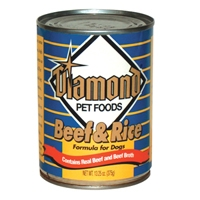 Diamond Beef & Rice Dog 24/13 oz. Cans