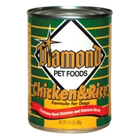 Diamond Chicken & Rice Dog 24/13 oz. Cans