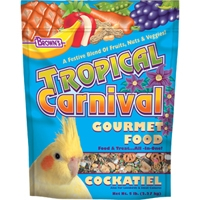 F.M. Brown's Tropical Carnival Cockatiel 6/5 lb.