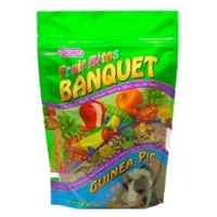 F.M. Brown's Fruit Bites Banquet Food Guinea Pig 2 lb.