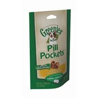 Greenies® Pill Pockets® Dog Tablet 3.2oz Chicken