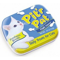 Chomp Pit'R Pat Breath Fresheners for Cats (Fish) .25 oz. Tin