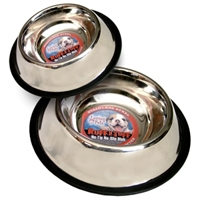 Loving Pets Striped No Tip Bowl 8oz