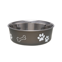 Loving Pets Bella Bowl Espresso Small