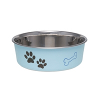 Loving Pets Bella Bowl Murano Blue Medium