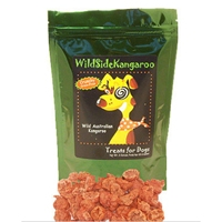 Wild Side Salmon Kangaroo Dog Treat 3 oz. Dog Treats
