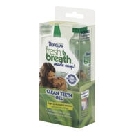 Tropiclean Fresh Breath Teeth Gel Kit 6 oz.