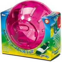 "Super Pet Mini Run-about Ball, 5"" Rainbow"