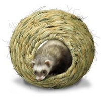 Super Pet Grassy Roll-A-Nest Medium