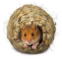 Super Pet Grassy Roll-A-Nest Small