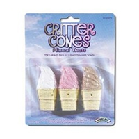 Super Pet Critter Cones Mineral Treats 3-Pack