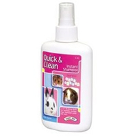 Super Pet Quick & Clean Critter Instant Shampoo, 6 oz
