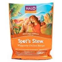 Halo Spot's Stew Adult Dog Wholesome Chicken, 4 lb.