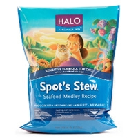 Halo Spot's Stew Sensitive Cat Seafood Medley 6 lb.