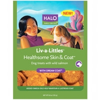 Halo Live-A-Little Healthsome Skin & Coat Treats With Dream Coat 6 oz.