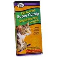 Four Paws Catnip Scratching POst - Extra Wide