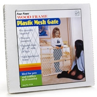 Four Paws Plastic Mesh Gate