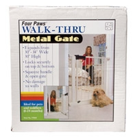 Four Paws Metal Walk thru gate #57015