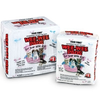 Four Paws Little Dog Wee Wee Pads 28 count