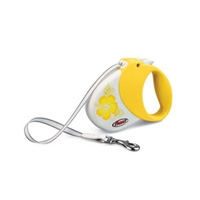 Flexi Hawaii Yellow Small/Medium, 33 lbs, 16FT