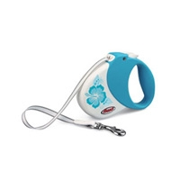 Flexi Hawaii Turquoise Small/Medium, 33 lbs, 16FT