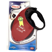 Flexi Giant All Belt Large 26' Leash Red