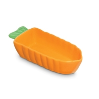 Prevue 3900 Ceramic Dish Carrot Shape X