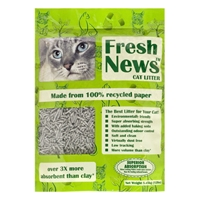Fresh News Cat Litter 12 Lb