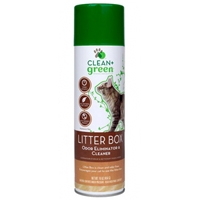 Clean & Green Cat Litter Box Odor Remover & Cleaner 16 oz