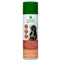 Clean & Green Dog Carpet Stain Remover, Odor Eliminator, and Cleaner 16 oz