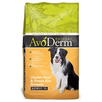 AvoDerm Natural Chicken Meal & Rice Dry Dog Food