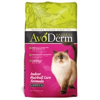 AvoDerm Natural Indoor With Hairball Care - Cat 4/7 lb.